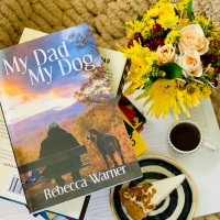 My Dad My Dog by Rebecca Warner #bookreview #tarheelreader #thrmydadmydog @rjiltonwarner @annmarienieves @suzyapbooktours #mydadmydog #blogtour