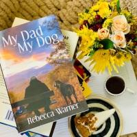 My Dad My Dog by Rebecca Warner #bookreview #tarheelreader #thrmydadmydog @rjiltonwarner @annmarienieves @suzyapbooktours #mydadmydog #blogtour