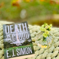 Death in the Cloud by E.J. Simon #bookreview #tarheelreader #thrdeathinthecloud @jimejsimon @suzyapbooktours #deathinthecloud #blogtour