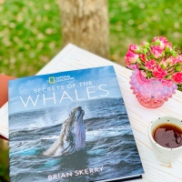 Secrets of the Whales by Brian Skerry #bookreview #tarheelreader @natgeo @tlcbooktours #thesecretsofwhales #blogtour