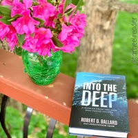 Into the Deep #bookreview #tarheelreader #thrintothedeep @tlcbooktours #intothedeep #blogtour